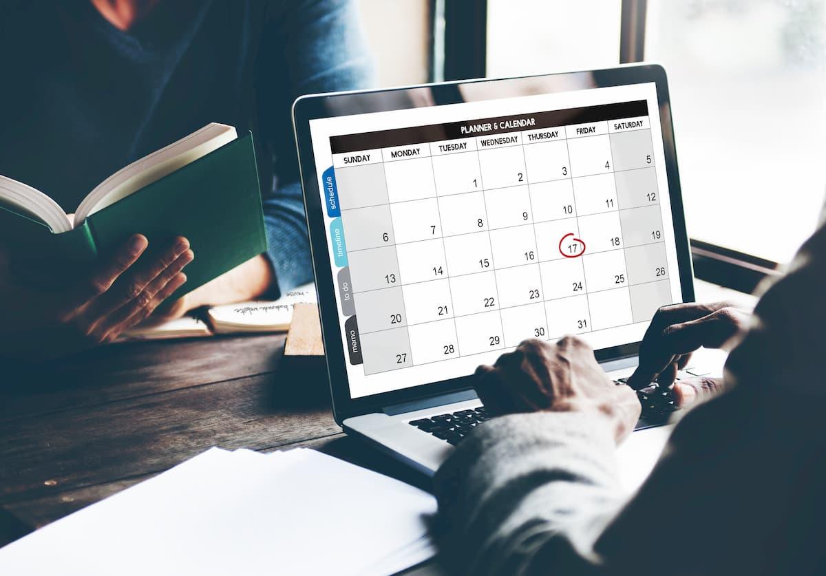 Calendario online con Laboro Control