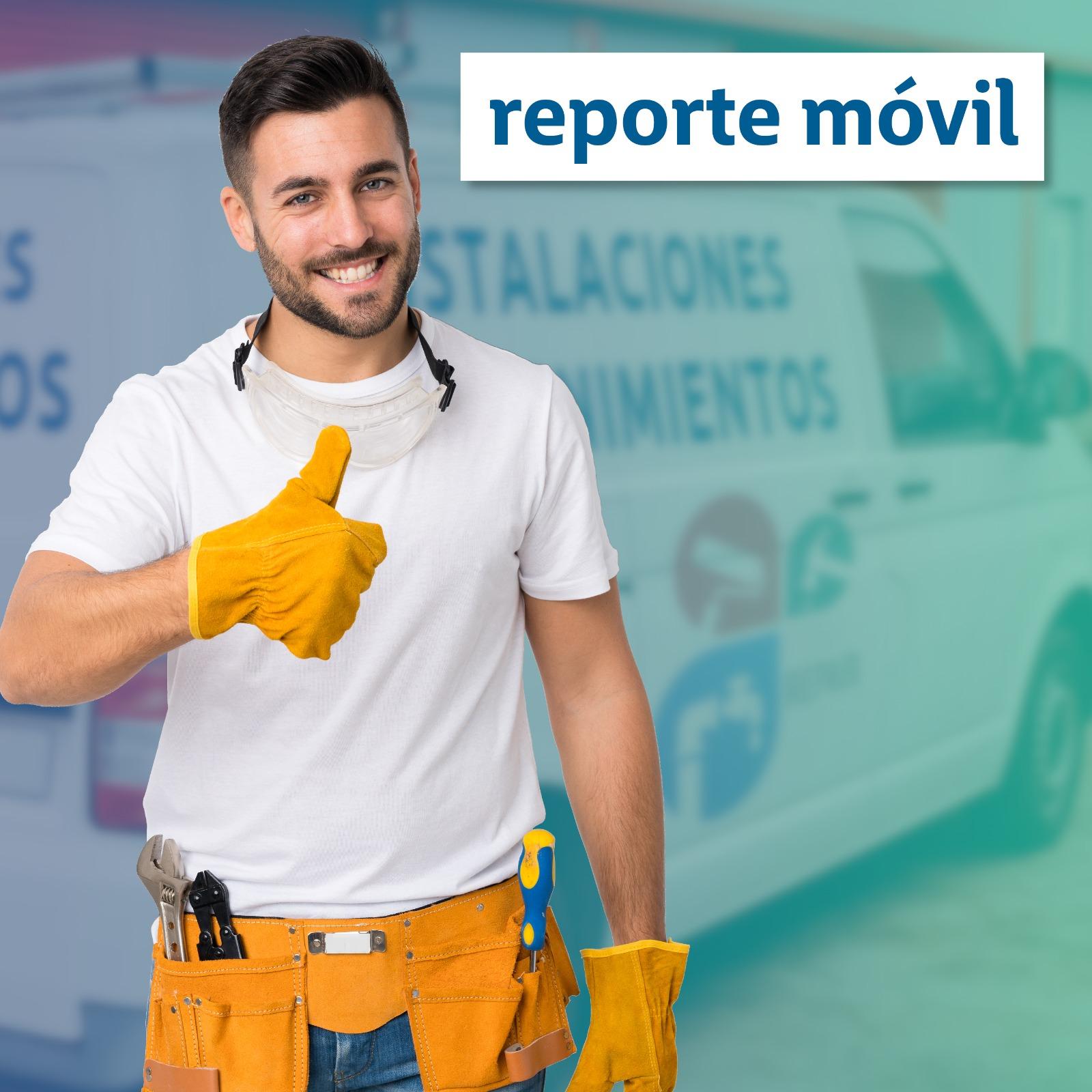 app reporte movil